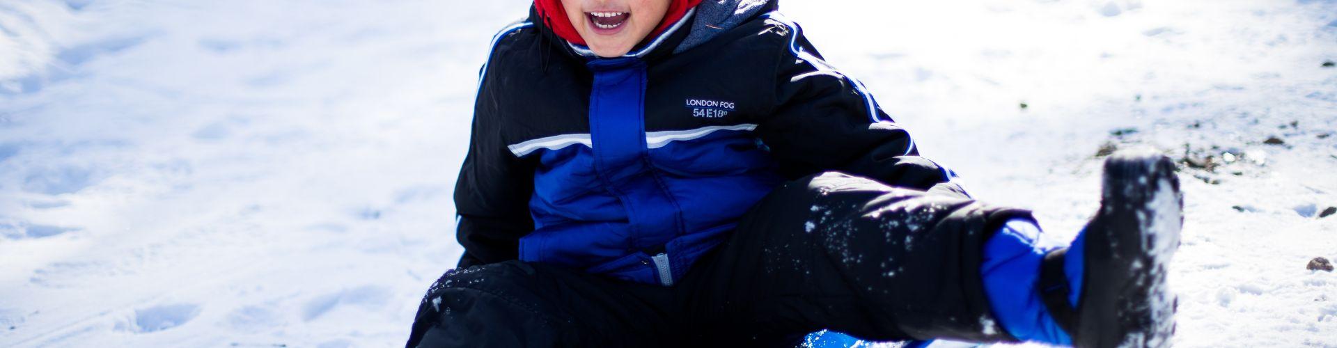 sledding baldy