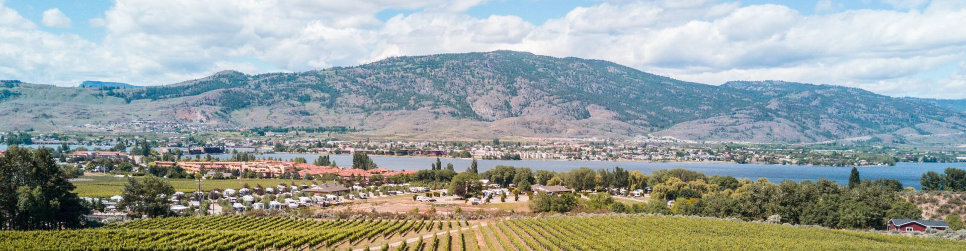 A view of Osoyoos Wine Country