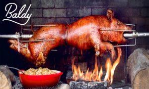 baldy pig roast