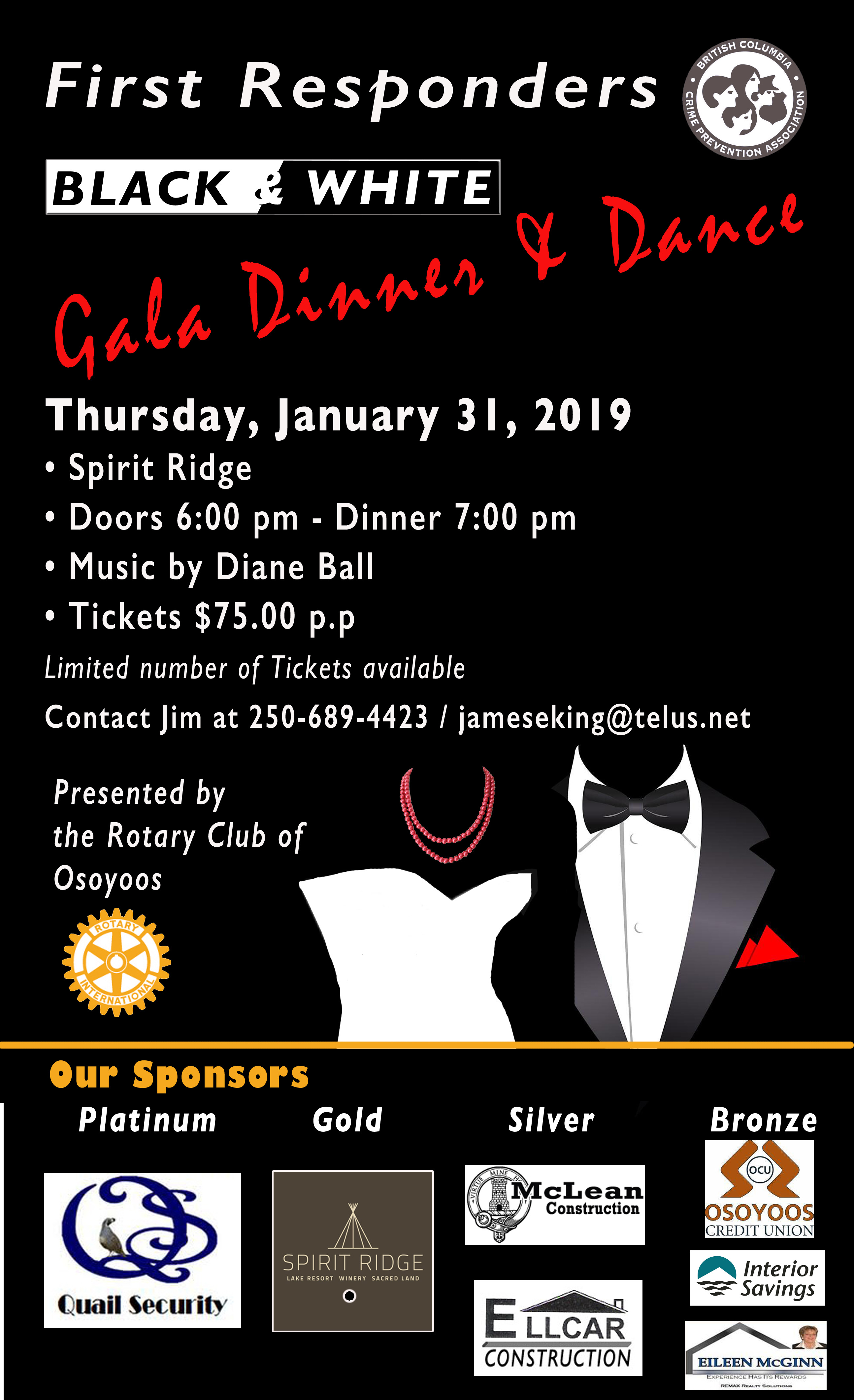 rotary gala poster