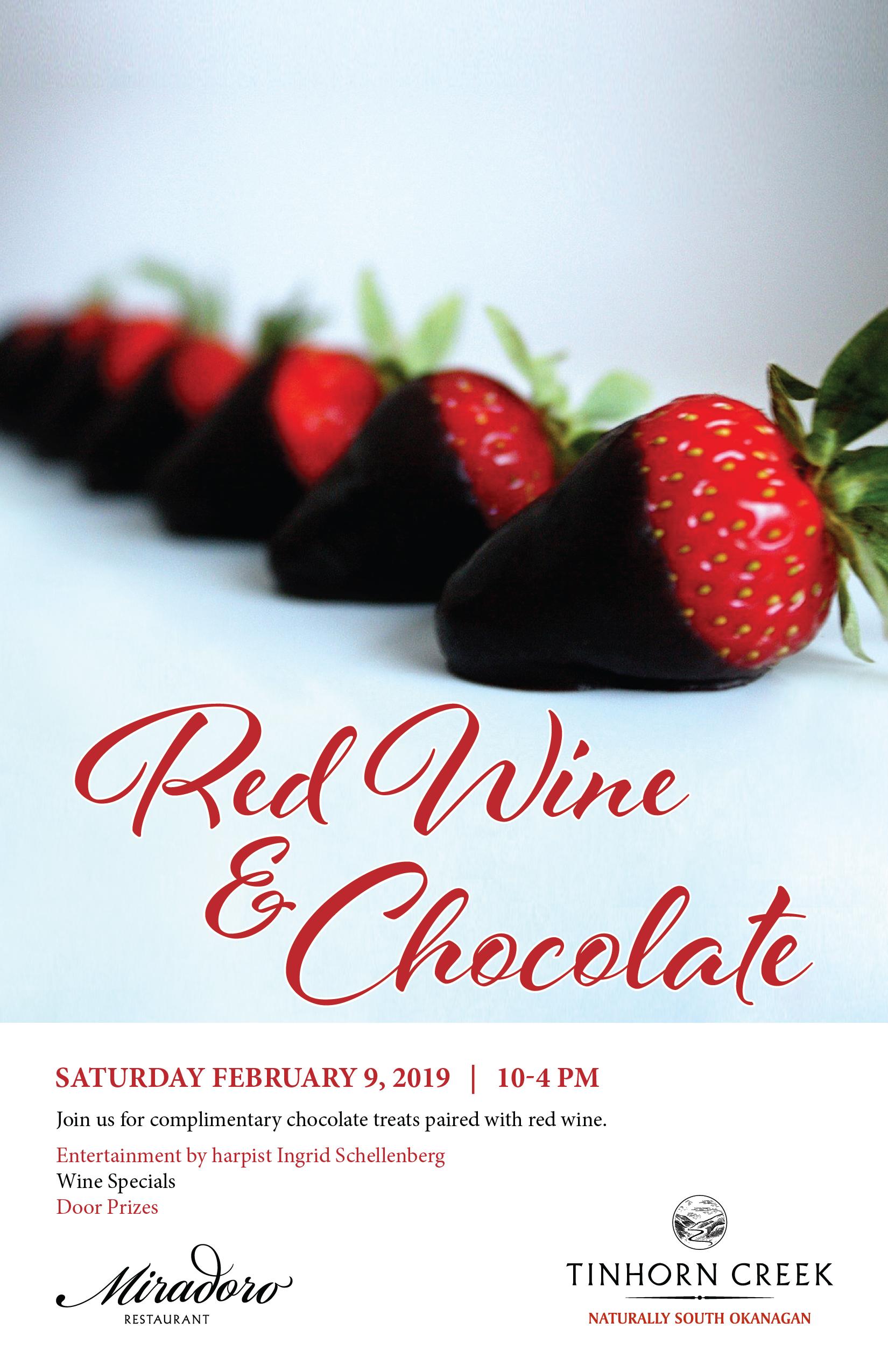 red wine chocolate tinhorn