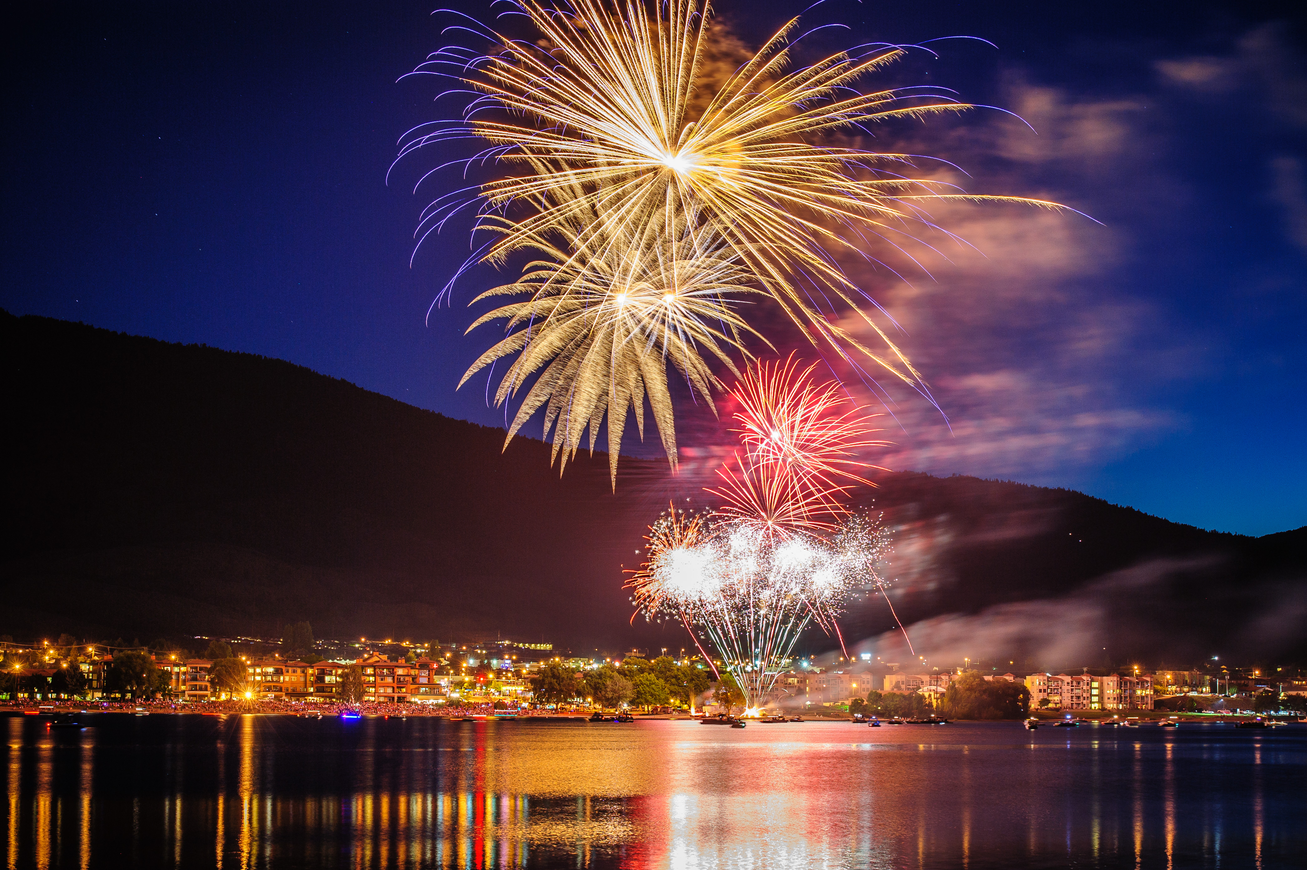 Canada Day Fireworks in Osoyoos