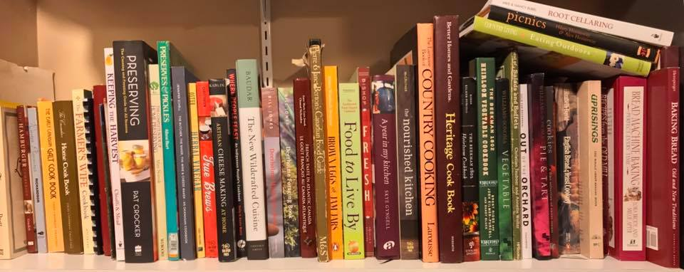 books about food, recipes, cooking etc