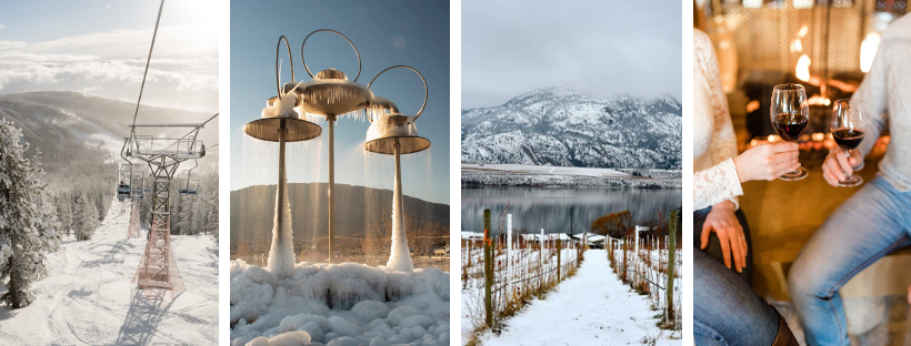 Winter in Osoyoos BC