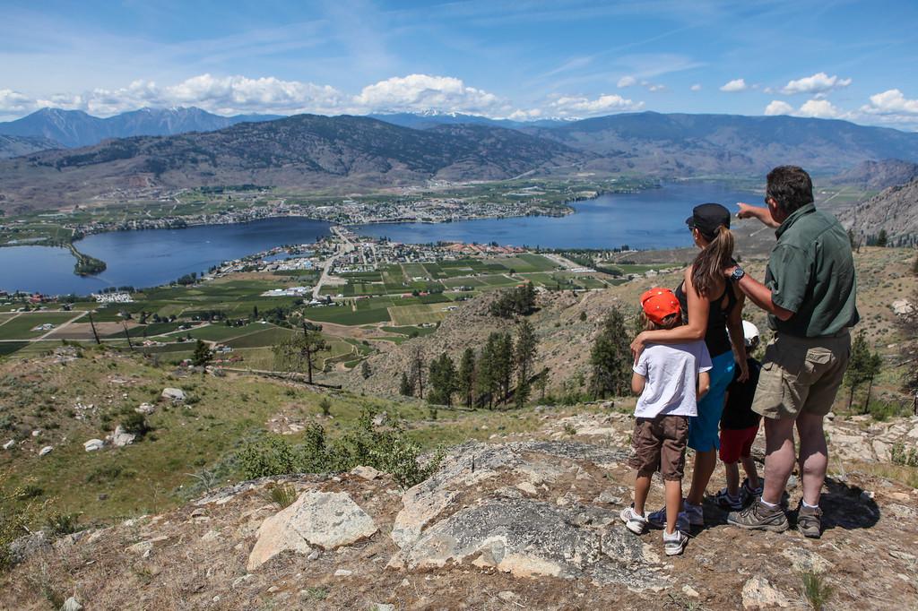 Hiking And Biking Trails In Osoyoos British Columbia